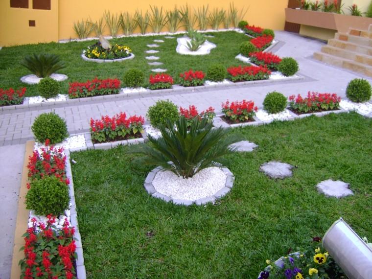 Flores y Plantas Rojas para el Jardín