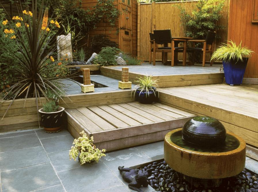 El Jardín Japonés: Diseño elegante, bonito y acogedor