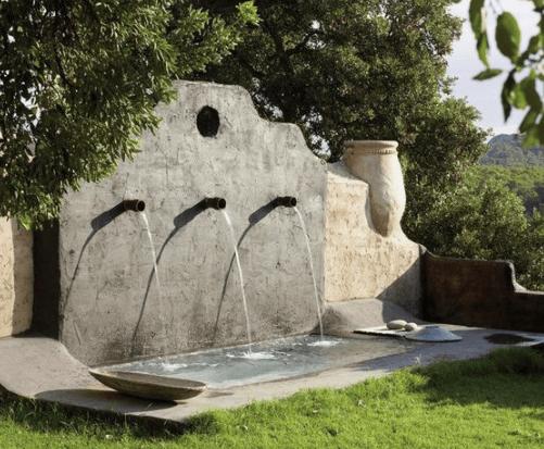 fuentes jardin ornamentales