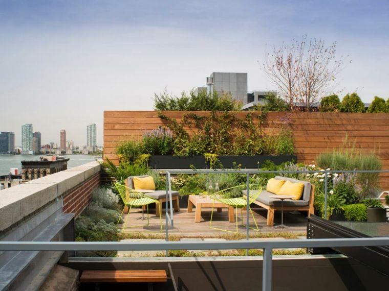 diseño de jardines en terrazas