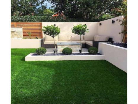 terraza cesped artificial