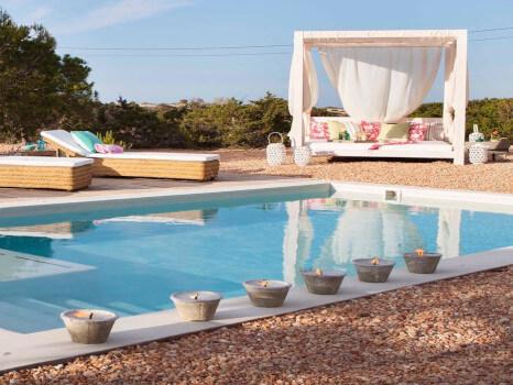 piscina casa formentera