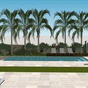 vistas piscina vivienda del llobregat